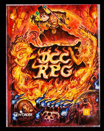 Livro Básico DCC RPG - Dungeon Crawl Classics