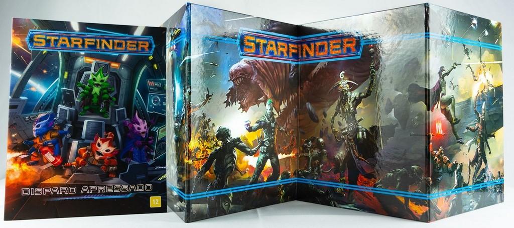 Escudo do Mestre e Aventura Disparo Apressado - Starfinder