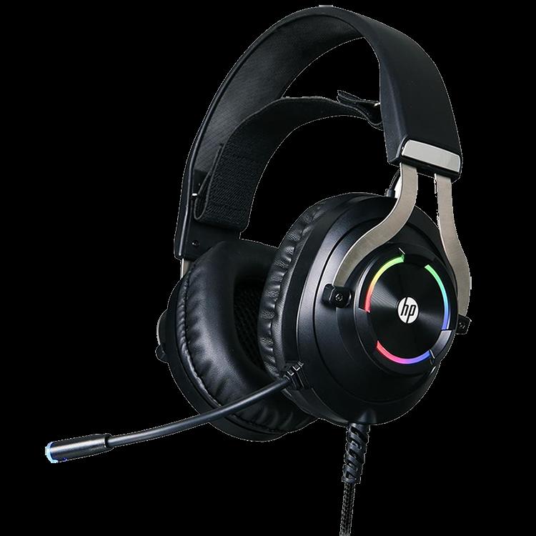 Headset Gamer HP H360GS, Drivers 50mm, USB 7.1 Surround, RGB