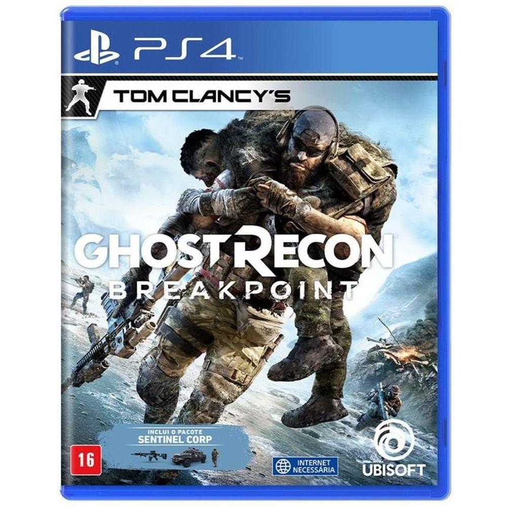 Jogo Ghost Recon Breakpoint Day One - PS4
