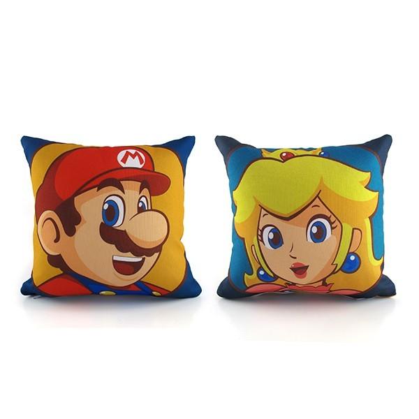 Kit Mini Almofadas Mário e Peach