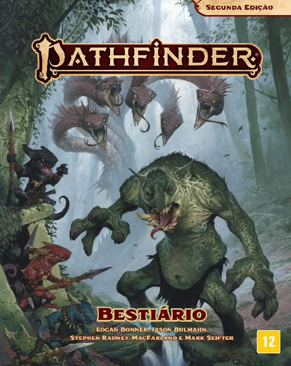 Livro Bestiário Pathfinder 2ª Edição