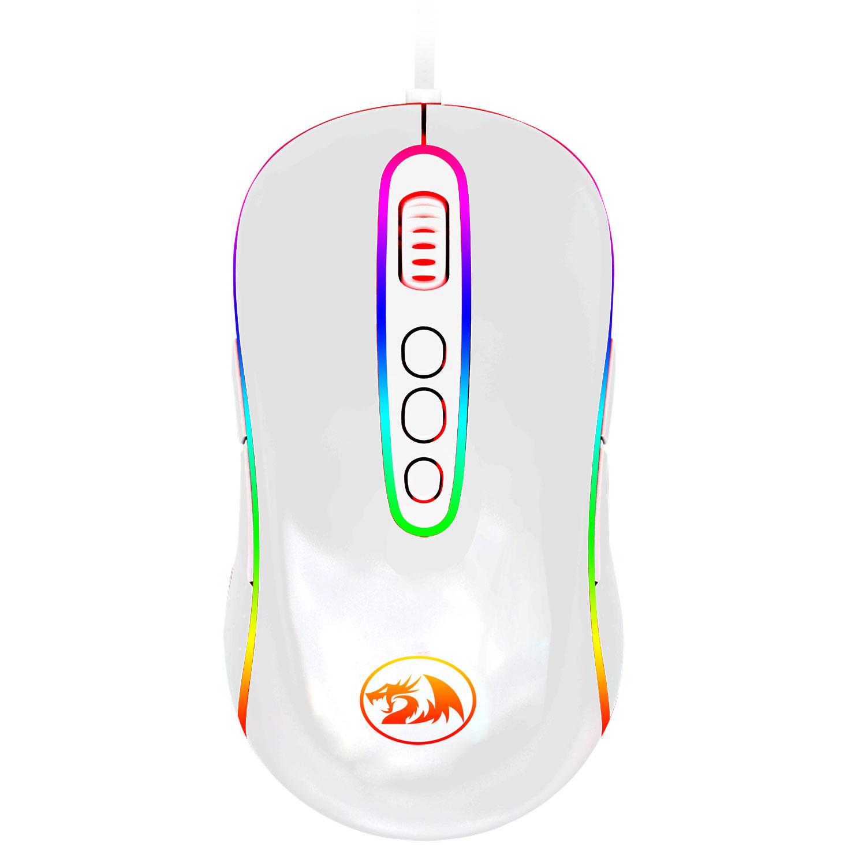 Mouse Gamer Redragon Phoenix 2 Lunar White RGB M702W-1