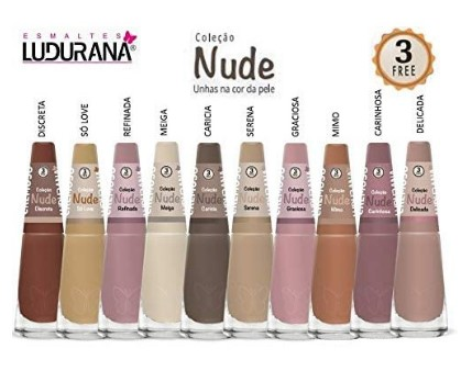Esmalte Nude 8ml Ludurana