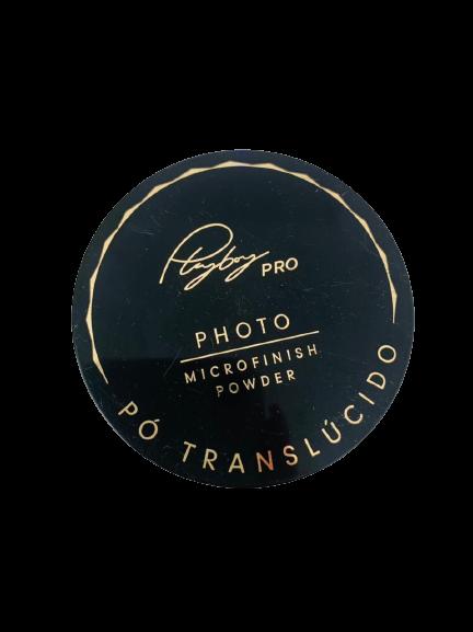 Pó Translúcido Photo Microfinish Powder Playboy Pro 16g