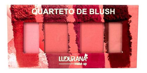 Quarteto De Blush 12g Ludurana