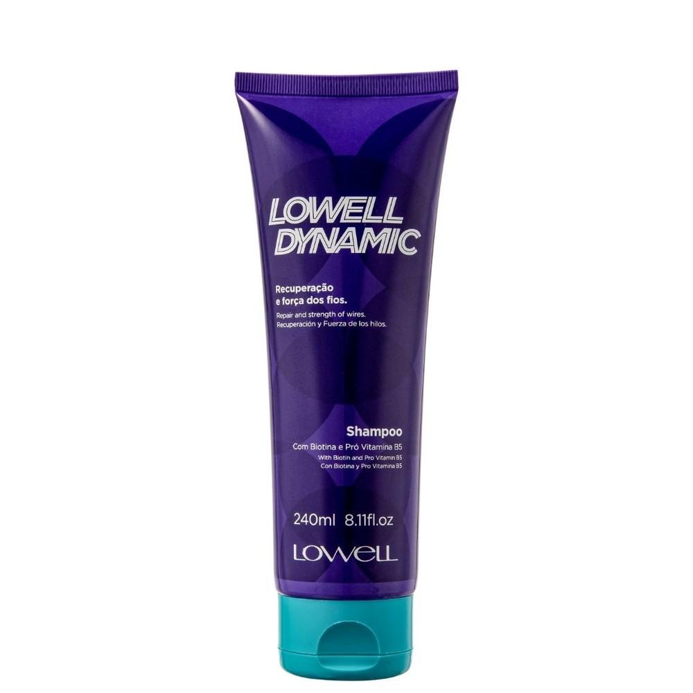 SHAMPOO DYNAMIC 240 ML - LOWELL