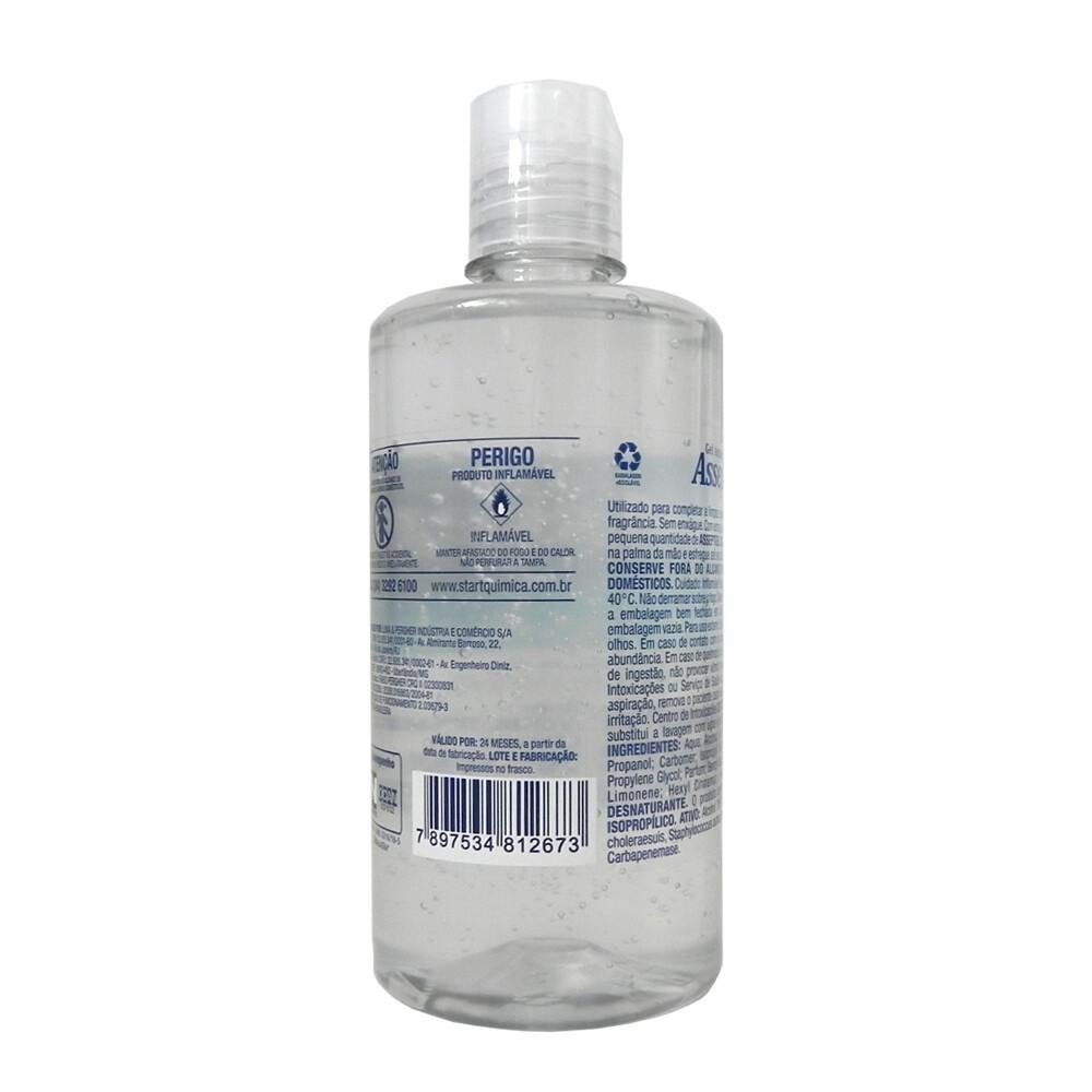Álcool Gel Kit com 10 frascos 420G 70 Aloe Vera