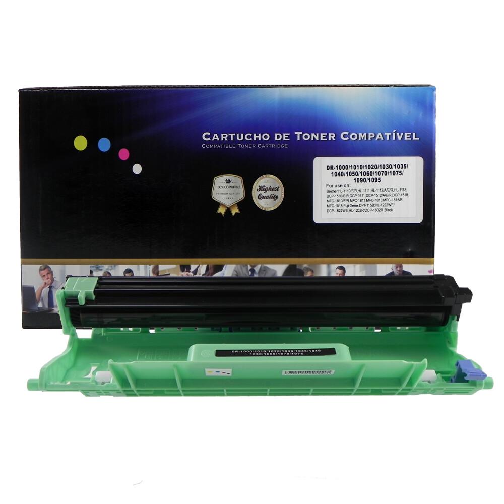Cilindro DR1060 Compatível HL1112 DCP1510 Preto 10K
