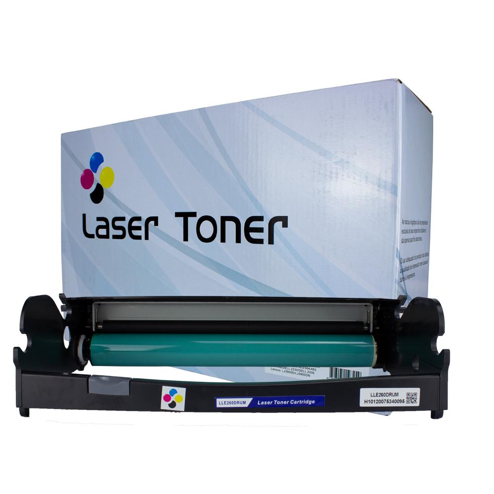 Fotocondutor Compatível E260X22G Preto E260 E360 E460 E462 30 mil páginas