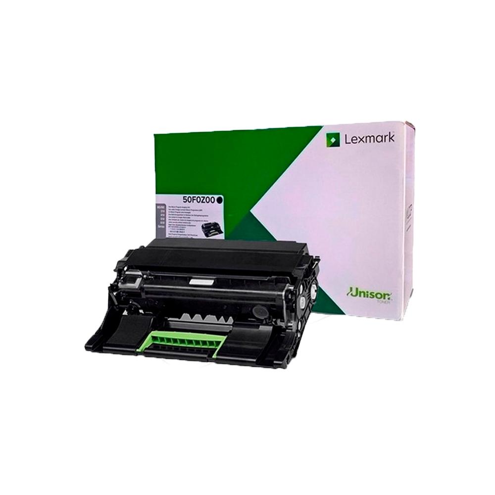 Fotocondutor Lexmark 50f0z00 original 60 mil páginas
