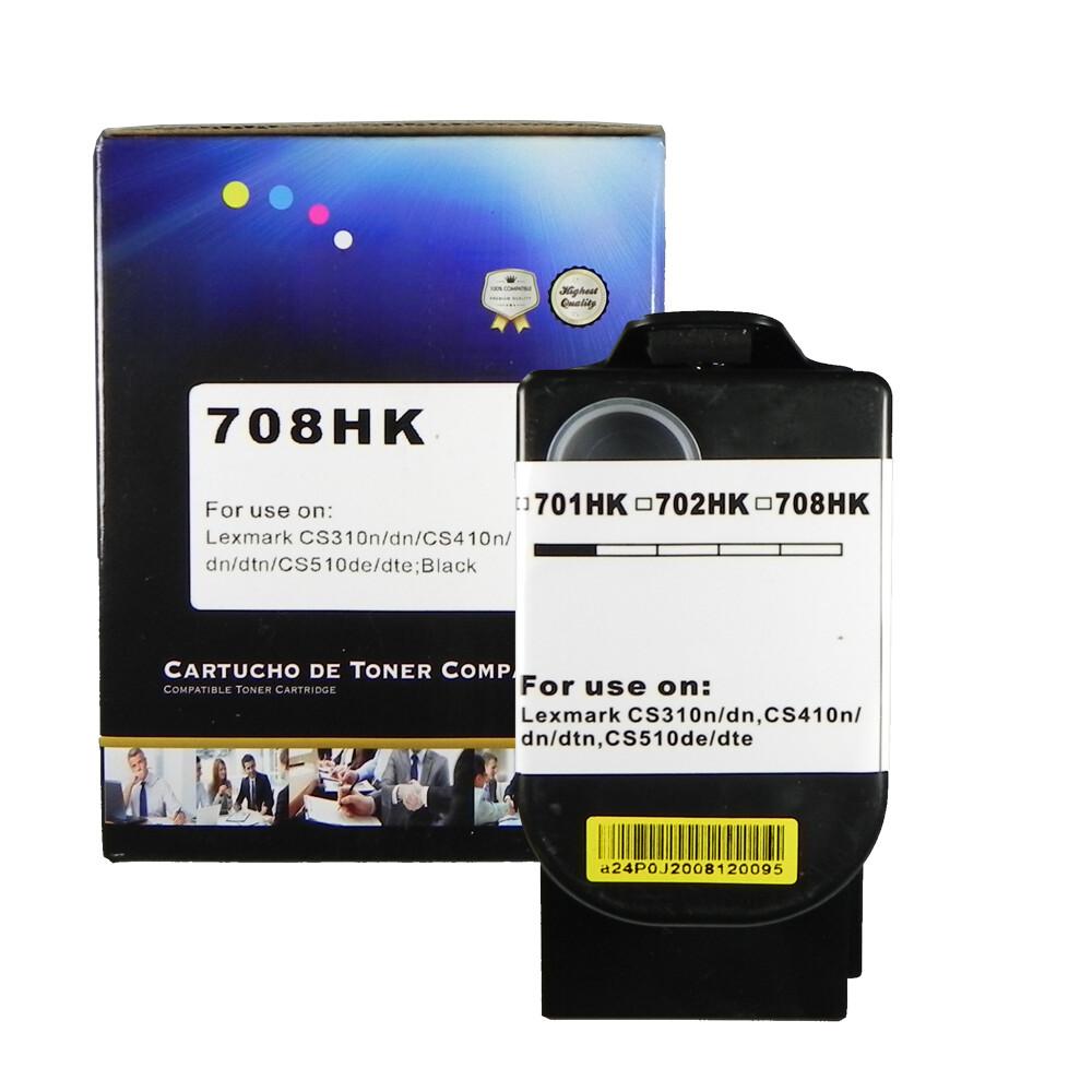 Kit Toner Compatível 708H CX410de CX510dhe CX510de CMY BK