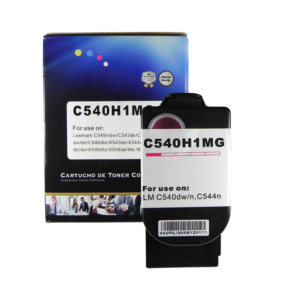 Kit Toner Compatível C540H X543DN X544DTN C540N CMY BK