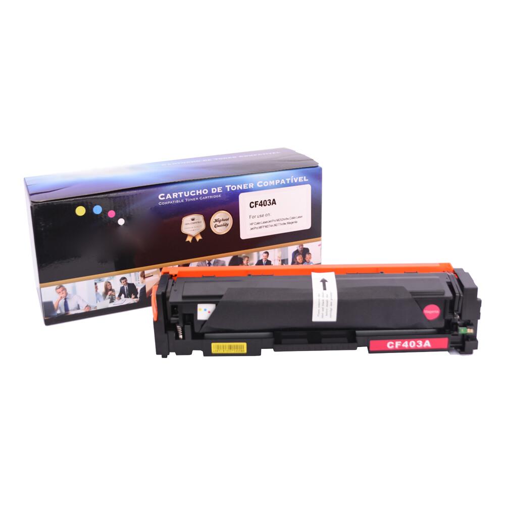 Kit Toner Compatível CF400A/1/2/3 M252 M274 Preto e Coloridos até 1,5k páginas