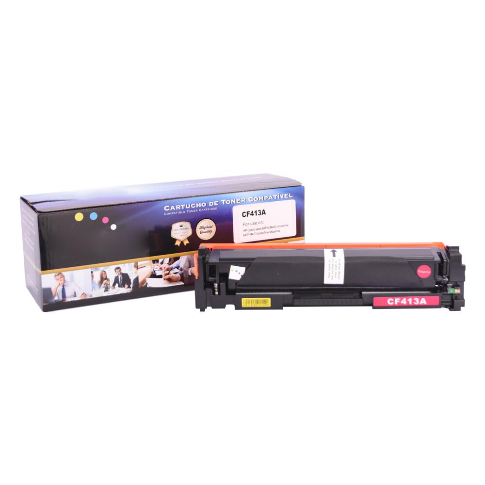 Kit Toner Compatível CF410X 411A 412A 413A M452 M477 4 CORES