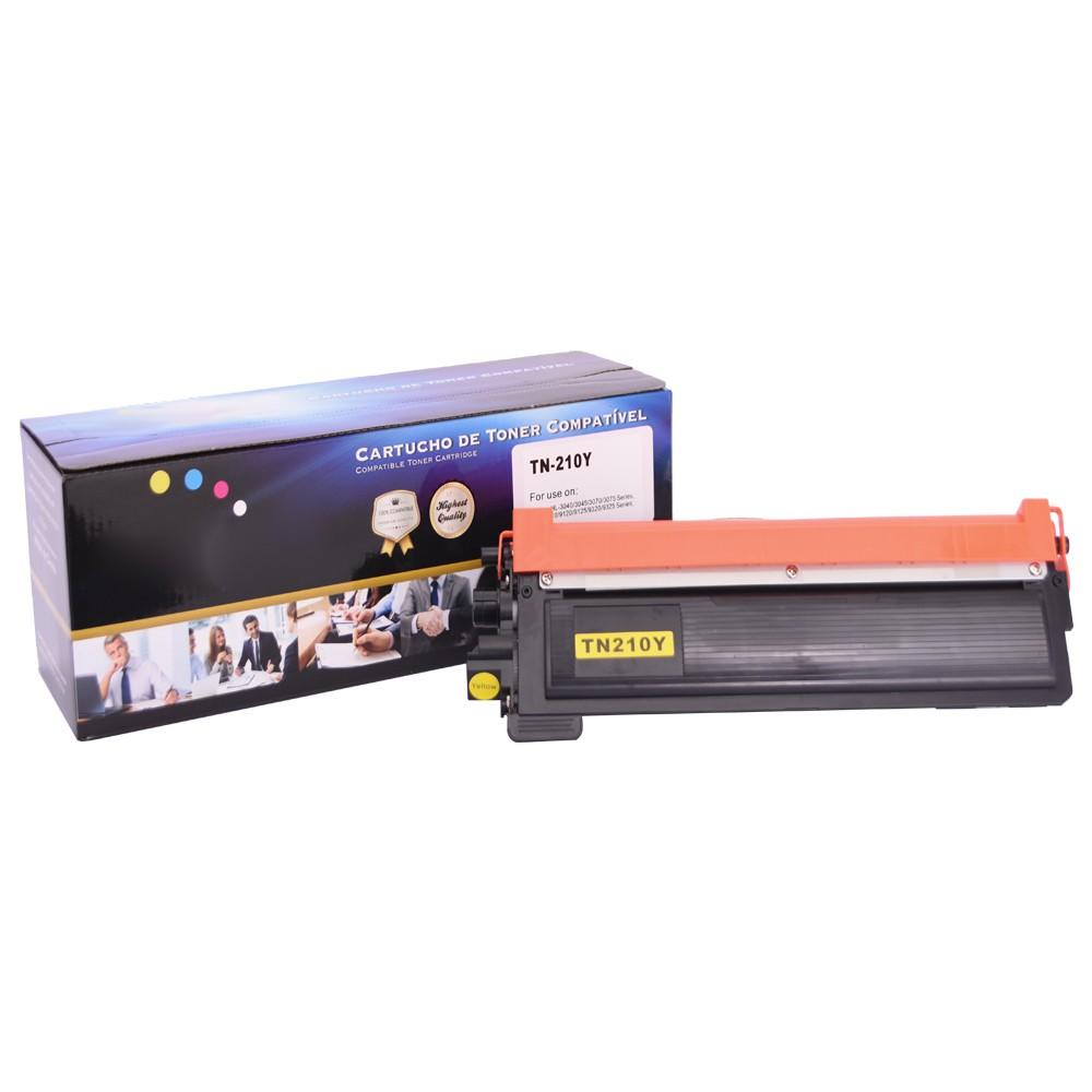Kit Toner Compatível TN210 HL3040 MFC9010 Preto e Coloridos até 2,2k páginas