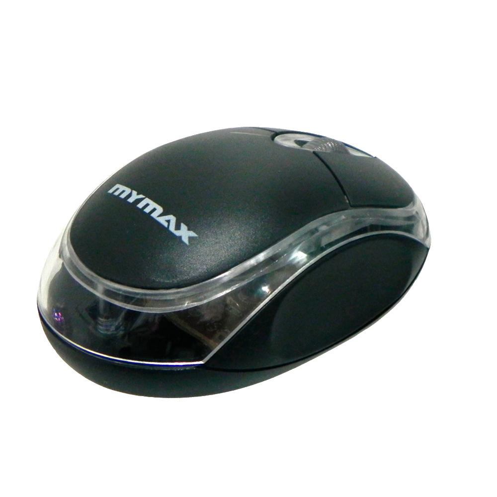 Mouse Optico Mymax Usb Scrool 800 DPI Preto