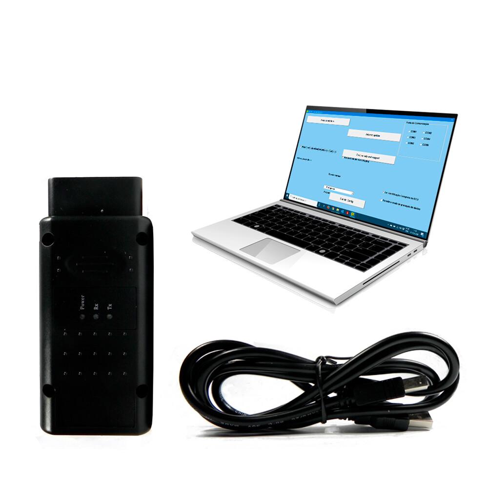 Scanner automotivo opcom Obd2 Automotivo USB v1.70 para GM Chevrolet