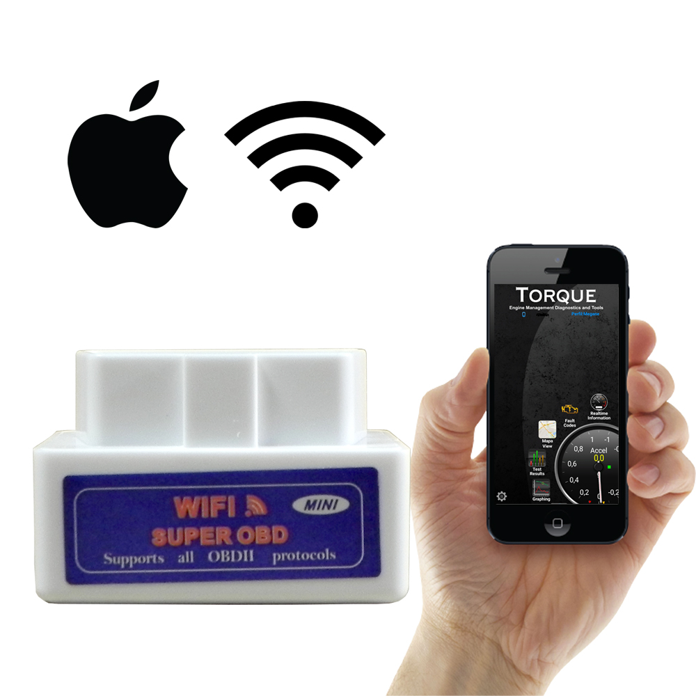 Scanner Automotivo para Ios OBD2 ELM327 com Wifi