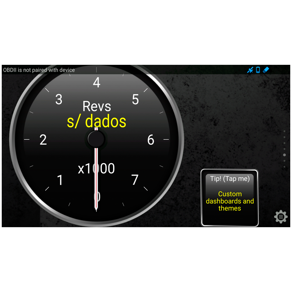 Scanner obd2 Bluetooth para celular Android v.2.1