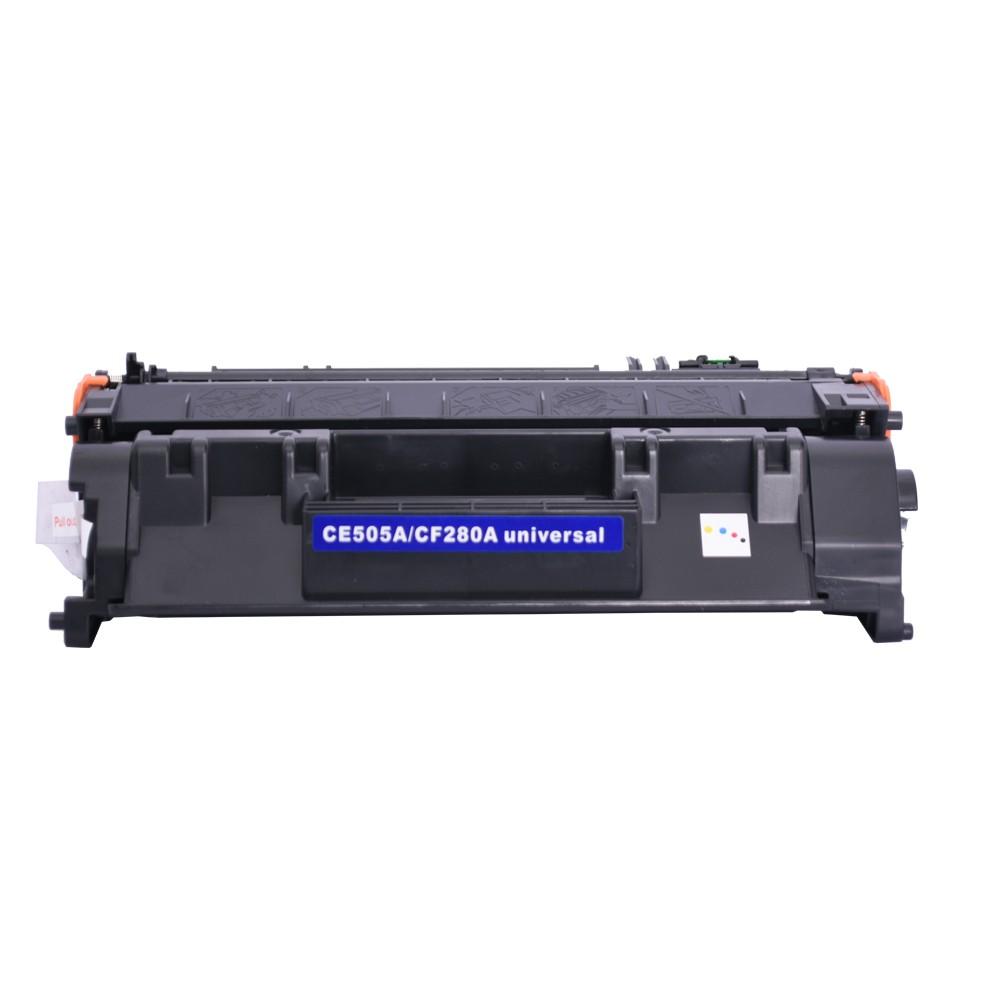 Toner CE505A Compatível CF280A P2030 P2035 Preto 2,7 mil páginas