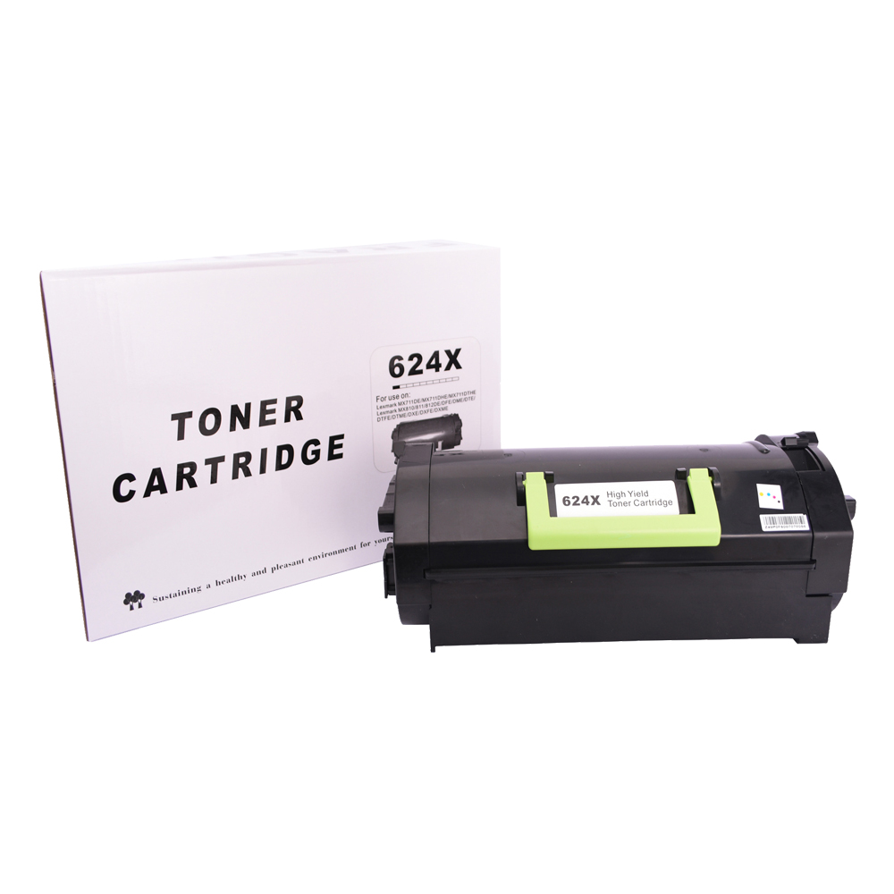 Toner Compatível 62D4X00Preto 45 mil páginas