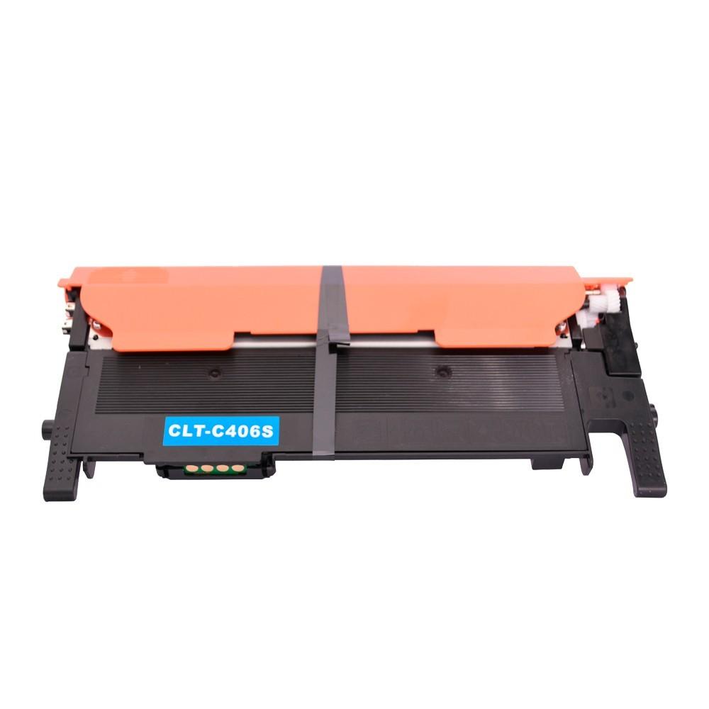 Toner Compatível C406S CLP-360 Xpress SL-C410 Ciano 1 mil paginas