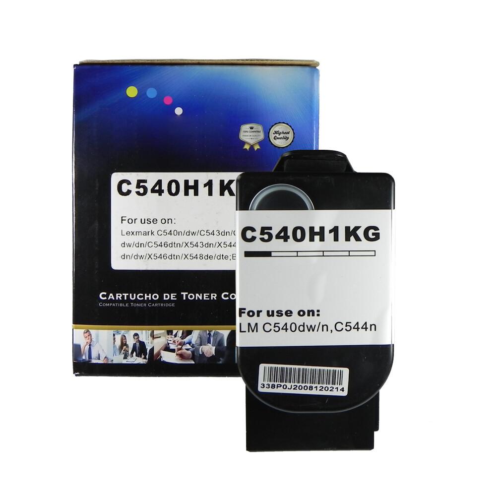 Toner Compatível C540H1KG Preto X543dn X544dtn C540n Preto 2,5K