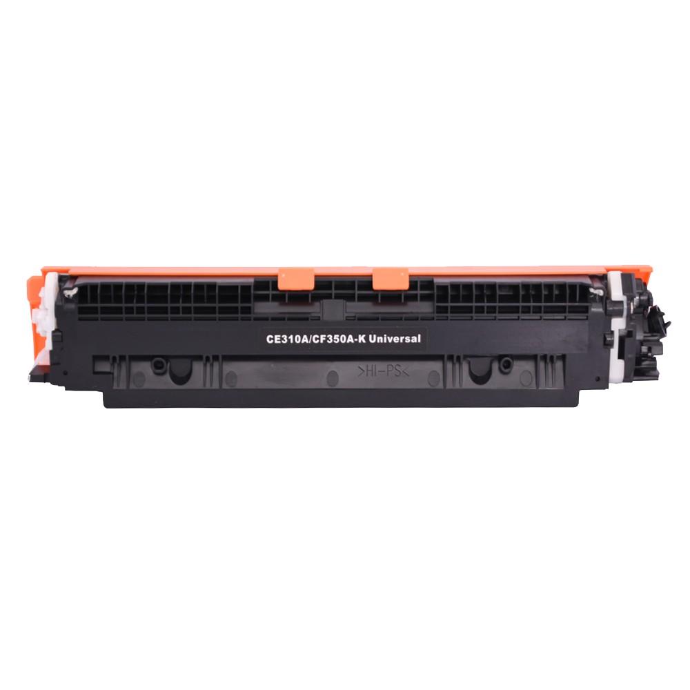Toner Compatível CE310A CF350A Preto CP1025 M176N 1,3 mil páginas