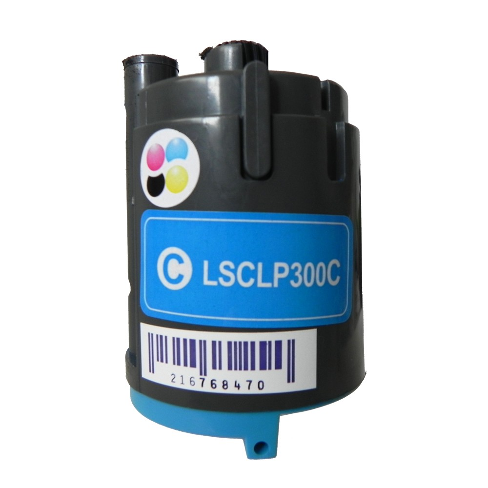 Toner Compatível CLP300C CLX 2160N 3160N Ciano 1 mil páginas
