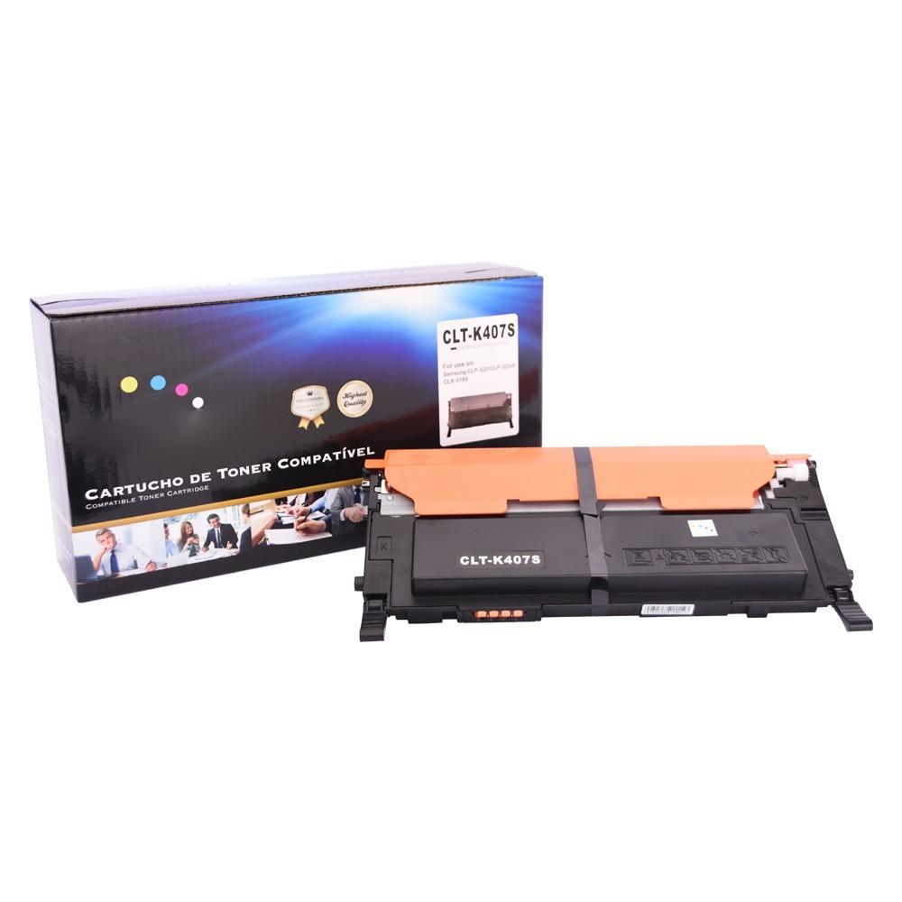 Toner Compatível CLT-K407S Xpress C430 C480 Preto 1,5 mil páginas