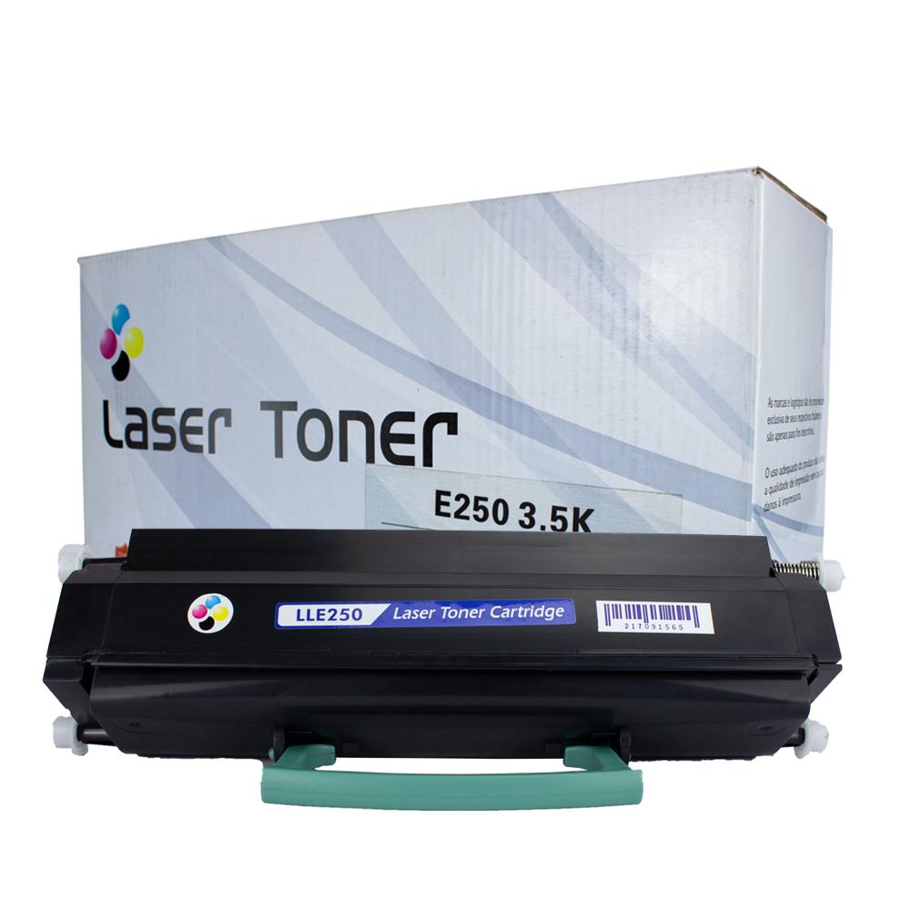 Toner E250 Compatível Preto E250 E350 E450 3,5 mil páginas