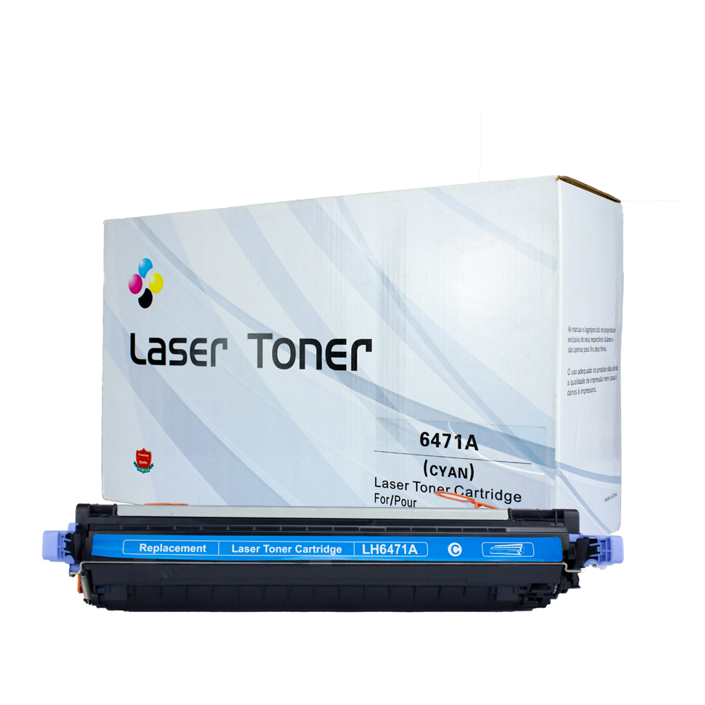 Toner 6471A Compatível 3600 3600N 3600DN Ciano 4 mil páginas