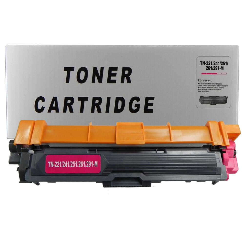 Toner Compatível TN221M TN241 TN251 TN261 3140CW 9020CDN Preto 2,5 mil páginas