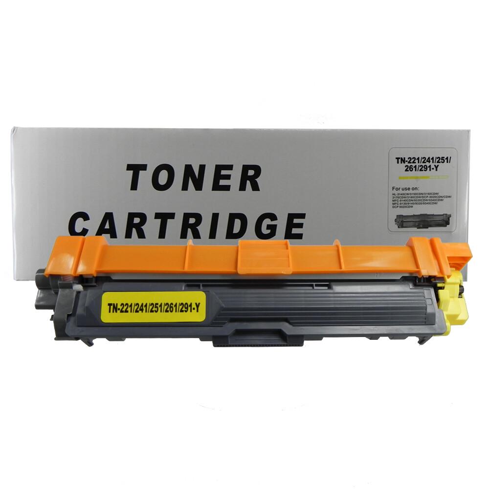 Toner Compatível TN221Y TN241 TN251 TN261 3140CW 9020CDN Preto 2,5 mil páginas