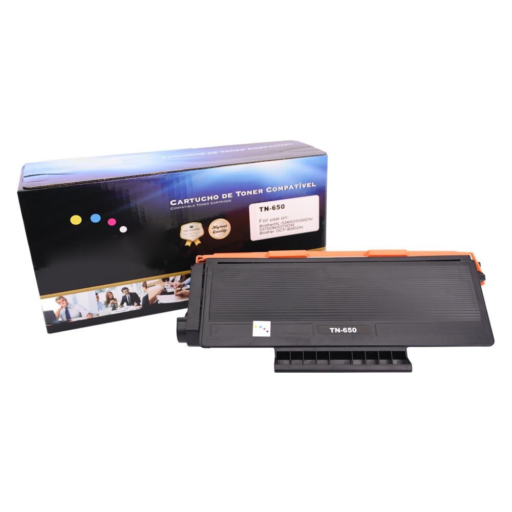 Toner Compatível TN580 TN650 HL5340D DCPC8070D Preto 8 mil páginas
