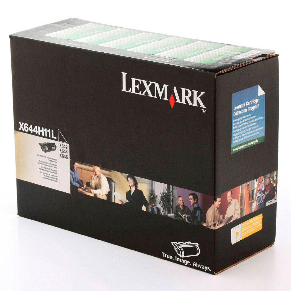 Toner Lexmark X644H11L original 21 mil páginas