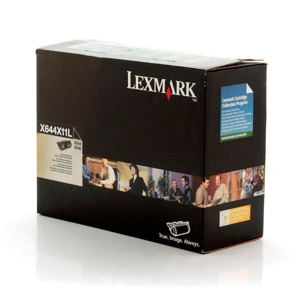 Toner Lexmark X644X11L original 32 mil páginas
