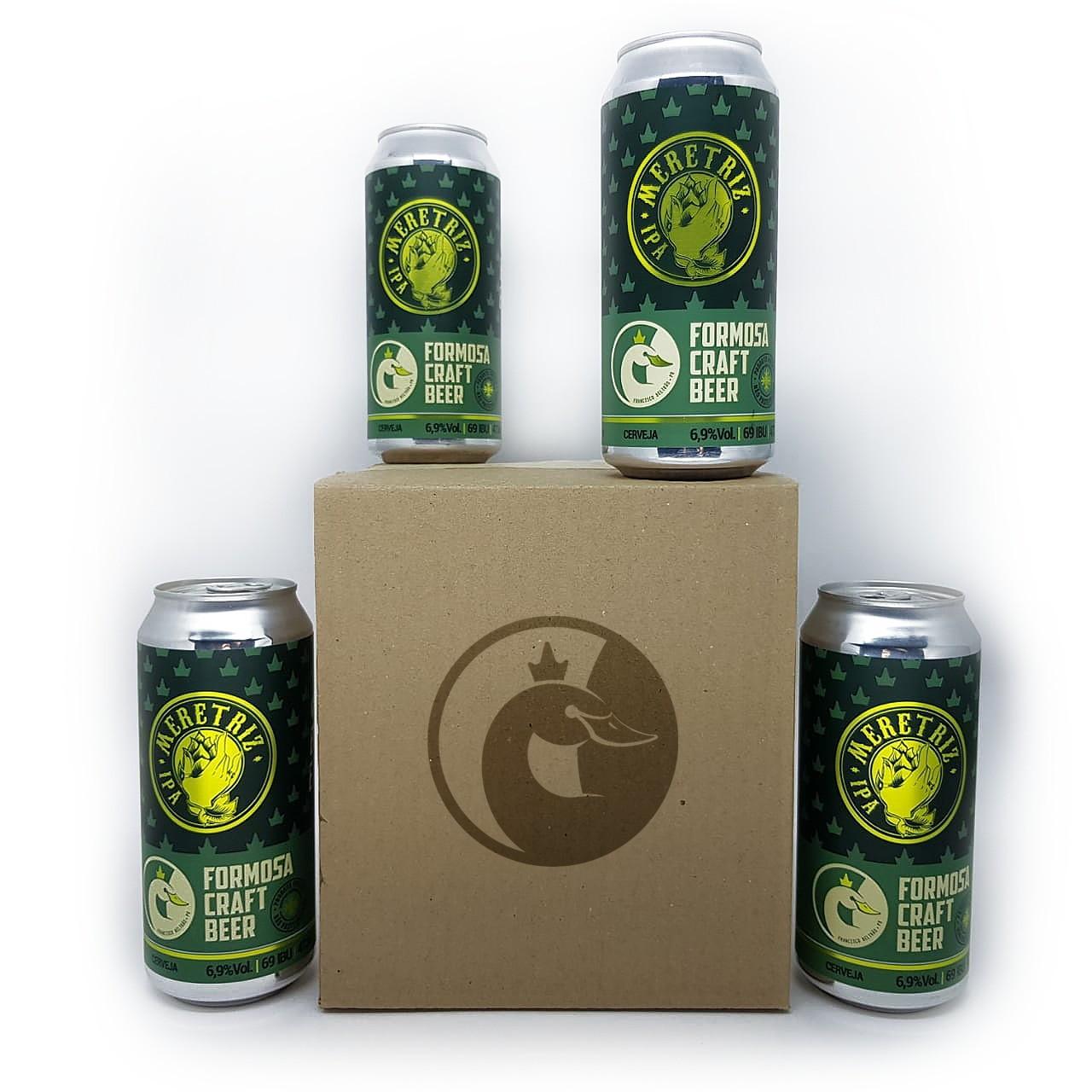 Pack Meretriz IPA 4 Cervejas 473ml