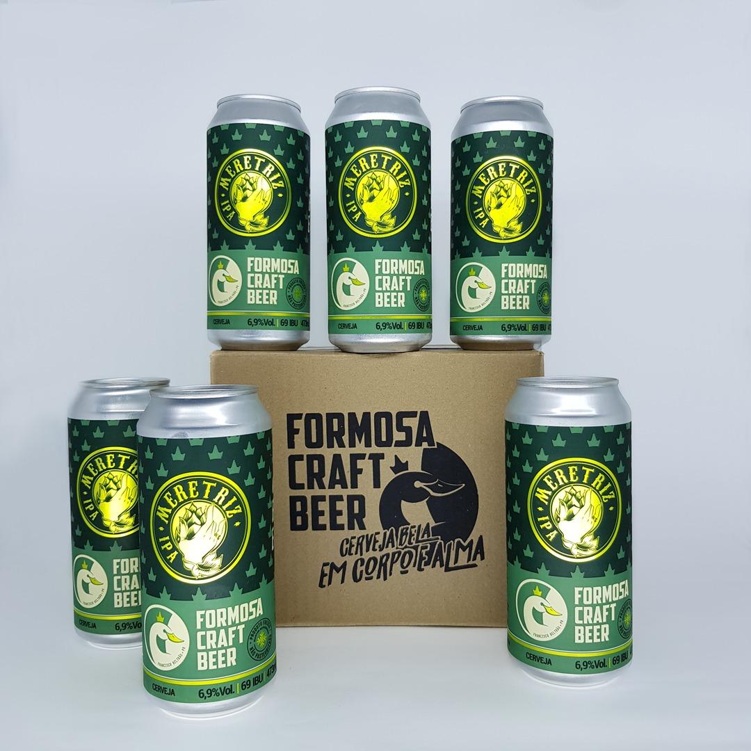 Formosa Meretriz IPA 6 Cervejas 473ml