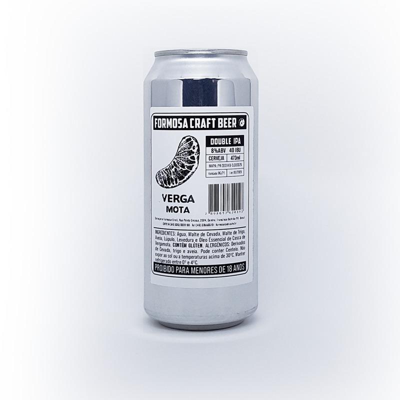 Vergamota Double IPA Cerveja 473ml