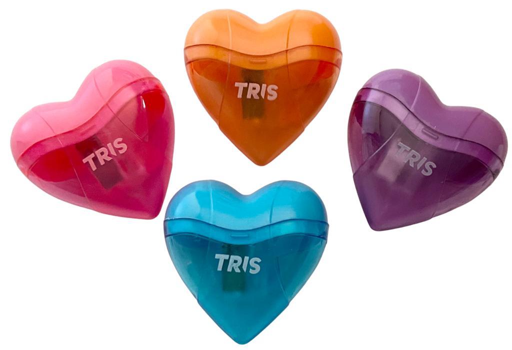 Apontador com Depósito TRIS Coração