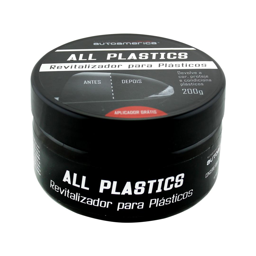 ALL PLASTICS AUTOAMERICA  REVITALIZADOR DE PLÁSTICOS EXTERNOS  200G