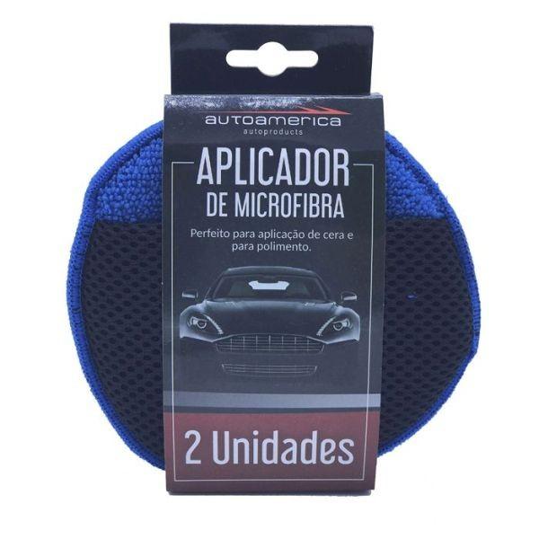 APLICADOR DE MICROFIBRA ( PACK COM 2 UNIDADES ( AUTO AMÉRICA )
