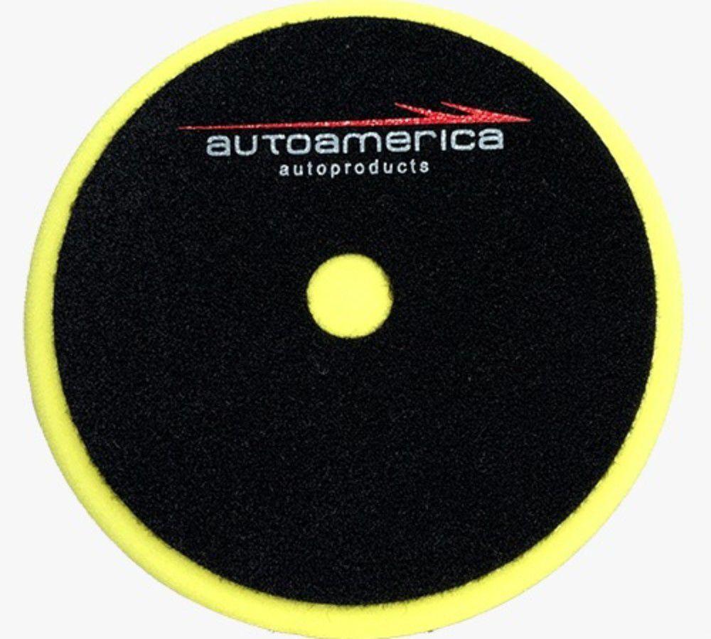 BOINA DE ESPUMA LOW COST AMARELA REFINO  AUTO AMERICA 6.5