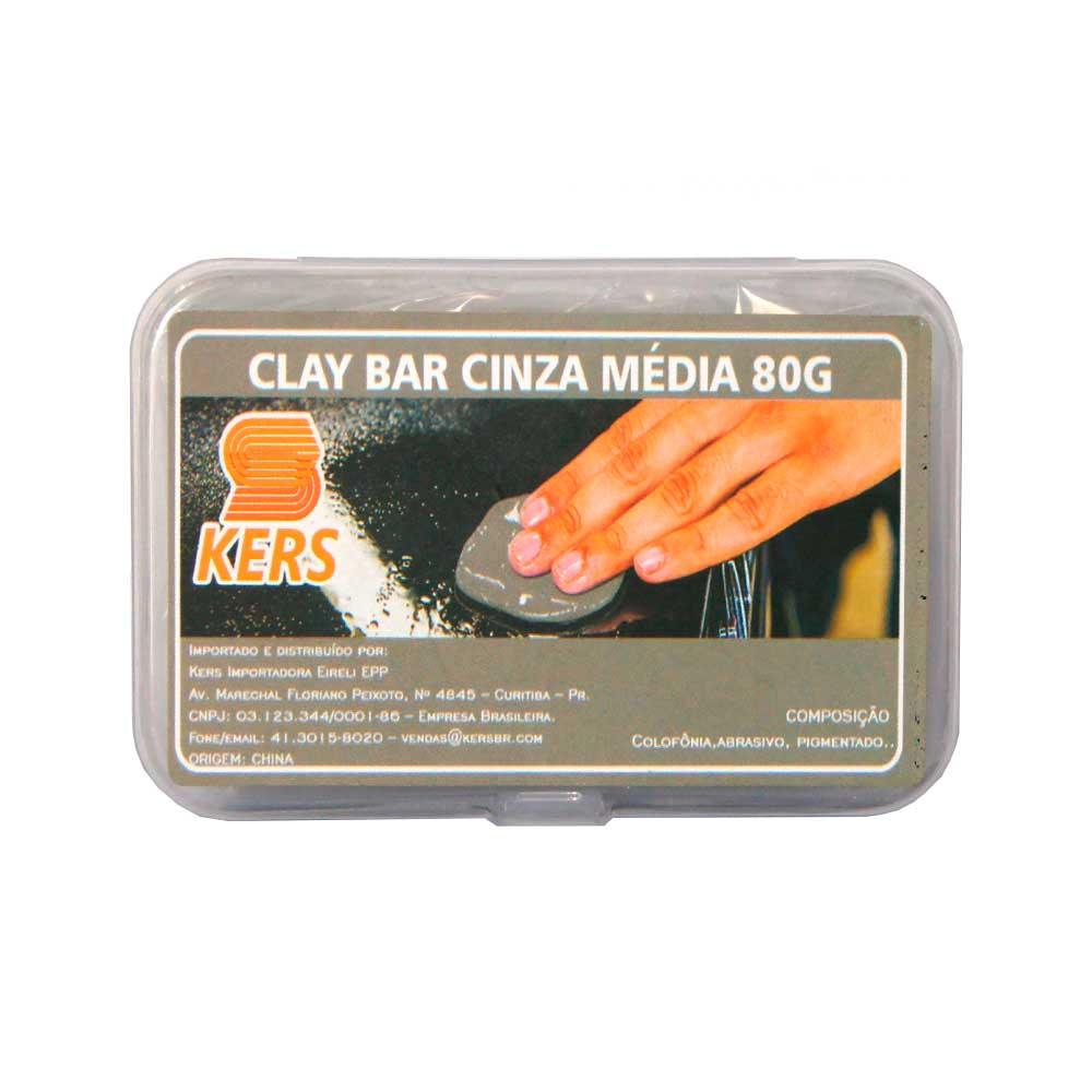 CLAY BAR CINZA - KERS - ANDERSON CAPAS - 80g