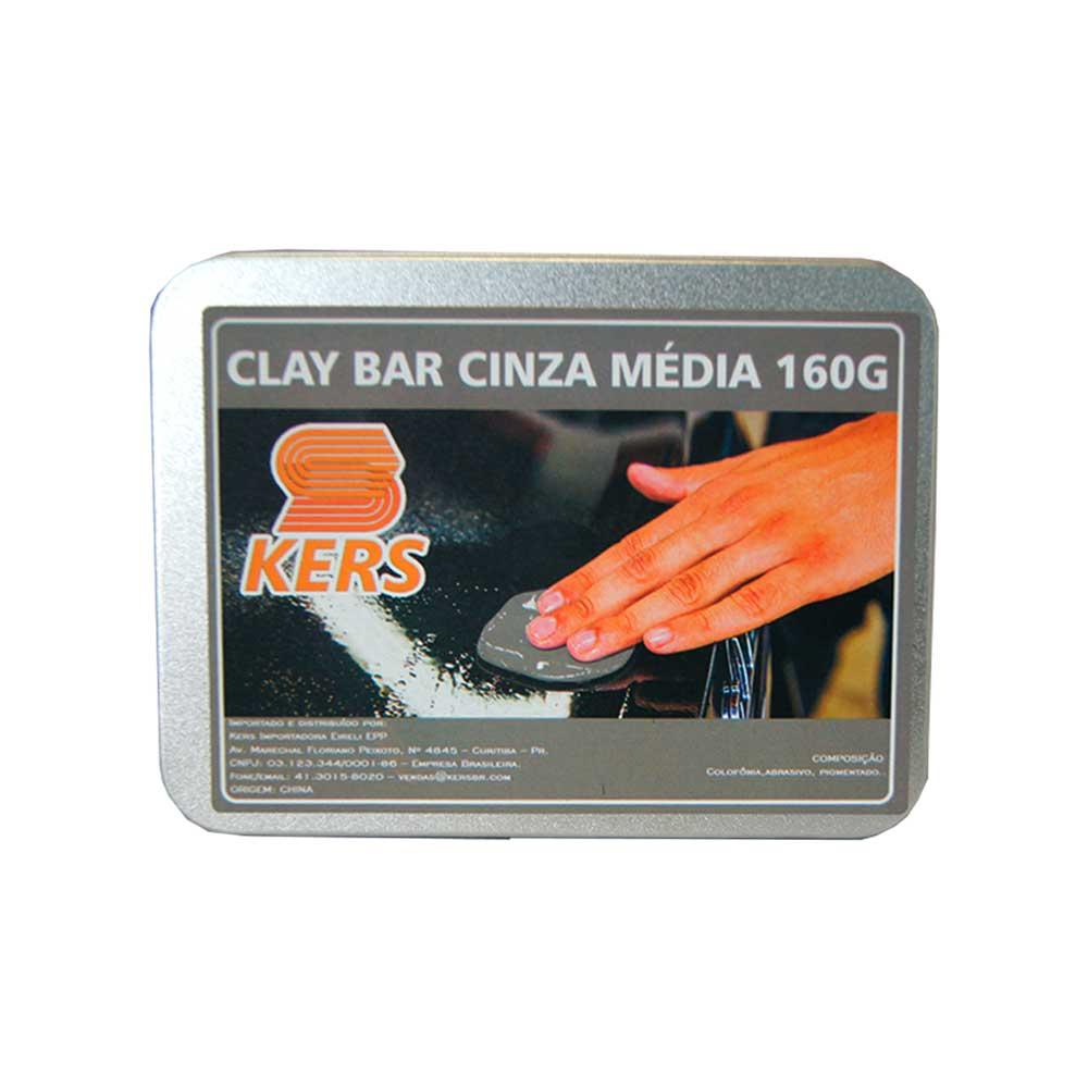 CLAY BAR CINZA MÉDIA -  KERS  - 160g
