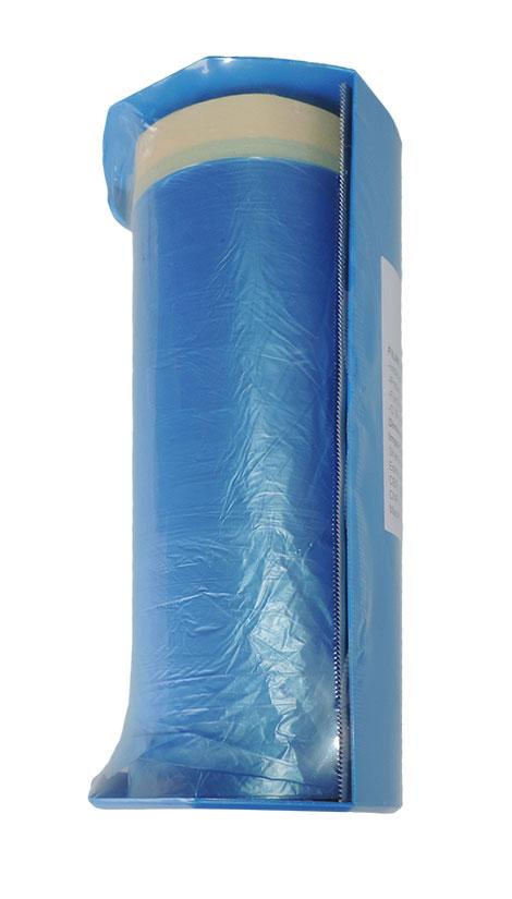 PLASTICO PARA MASCARAMENTO COM FITA CREPE SHERWIN- WILLIAMS 1,4M * 25M