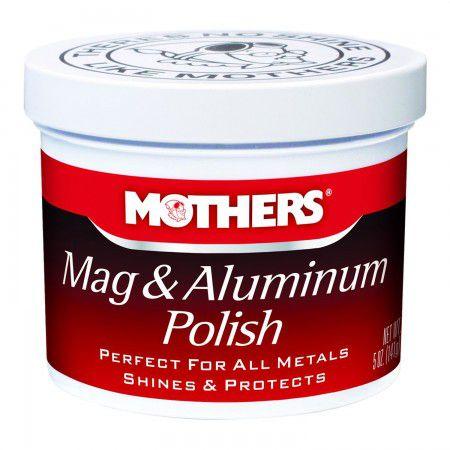 POLIDOR DE METAIS MAG & ALUMINIUM POLISH DA MOTHER'S 141G
