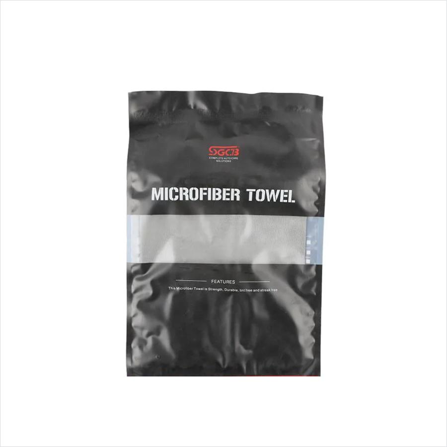 TOALHA DE MICROFIBRA CINZA  60X160CM SGCB - MICROFIBERT TOWEL ( SECAGEM DE VEÍCULOS )